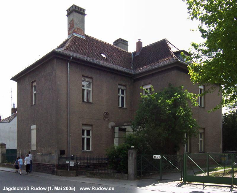 Jagdschloß in Rudow - Prierosser Straße 48