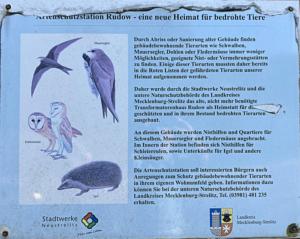 Rudow (Artenschutzstation in Neustrelitz)